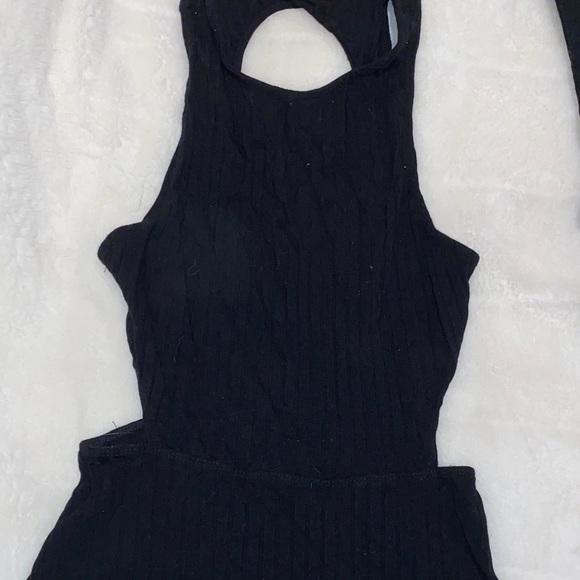 Mini cutout dress